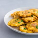 Tostones (Twice-Fried Green Plantains)