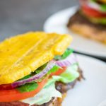 Jibarito (Plantain Skirt Steak Sandwich)