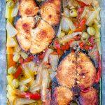 pescado en escabeche pickled king fish puerto rican caribbean recipe in glass container