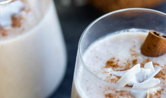 traditional authentic puerto rican coquito beverage recipe
